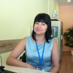 Татяна Тодорова - Христова касиер и сътрудник продажби на Телепол в Нови Пазар.